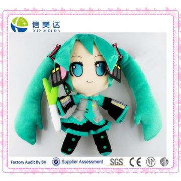 Kawayi Hatsune Miku Cartoon Character Plush Toy 12inch