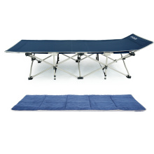 A cama de acampamento de dobramento resistente de pouco peso / o berço de acampamento militar com 600D carreg o saco e a almofada