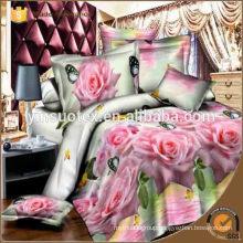 Royal luxury bedding set PVC zipper bag packing