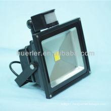 High quality good price ip65 PIR SMT COB 12v solar led flood light 50w pir 20w 50w 60w 30w led sensor flood light 20w 30w 50w