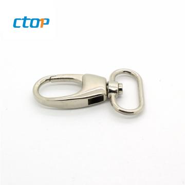 Custom handbag accessories hardware metal bag hook snap hook key ring metal hook for bag