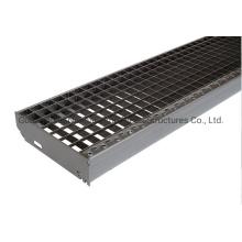 Jimu Press-Lock Steel Grating Hot DIP Galvanized Finish Press Lock