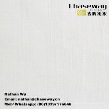 Washer Wrinkle Processing Slub Elastic Linen Texture Cotton/Spandex Fabric
