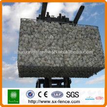 PVC beschichtete Gabion Korb Gabionen
