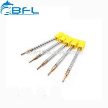 Ferramentas de corte do metal do torno do CNC de BFL 4 alargadores da flauta da espiral das flautas para cortar o aço