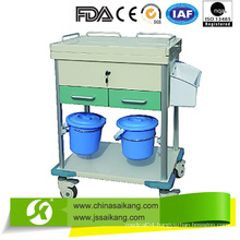 ABS Clinical Trolley with Casters 2016 New Model