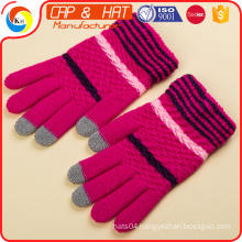 cotton Arcylic Glove Smart Phone Winter Warm Touch Screen Gloves Best Promotional Gift