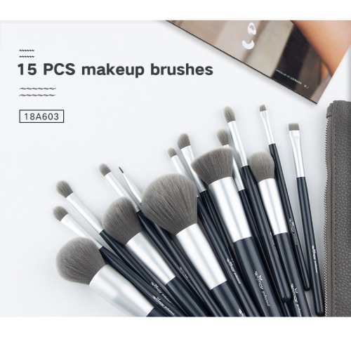 15 Make-up Pinsel Set einzigartige Make-up Pinsel