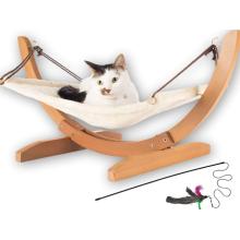Large Soft Plush Cat Hammock