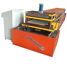 Color steel plate cold roll forming machines