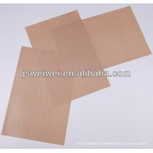 Made in china ptfe coated fiberglass fabric cloth with PFOA PFOS and FDA certificate different thickness