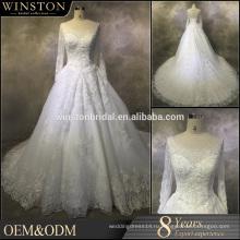 Новый дизайн на заказ хиджаб мусульманские свадебные свадебное платье