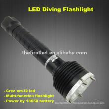 3T6 CREE XM-L2 LED lámpara autodefensa táctica linternas