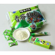 1kg Pack vert Wasabi en poudre pure véritable sain