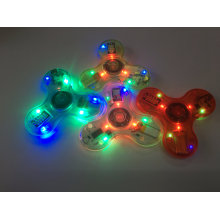 Hand-Spinner / Zappeln-Spinner mit Blitzlicht und Bluetooth Lautsprecher