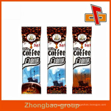 China vendor aluminum foil back sealed small coffee bag for instant coffee packging