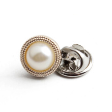 High Quality Custom Pearl Button Jeans Accessories Button Pin For Clothing