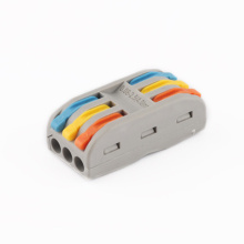 PCT-2-2 Conjoint Cage Spring Terminal Block
