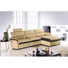 Sofá reclinable eléctrico USA L & P Mechanism Sofa Down Sofa (747 #)
