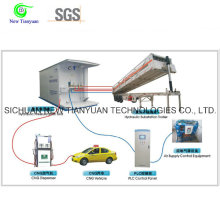 Hydraulic Refueling System of The CNG Daughter Station Semi Trailer