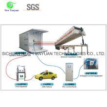 Гидравлическая система заправки дозатора CNG Полуприцеп