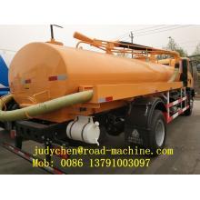 Camión de succión de aguas residuales 8M3 SWZ 4X2