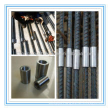 Rebar connecting pipes and fittings