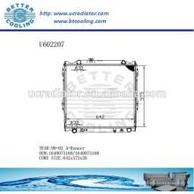 Radiateur pour TOYOTA 4-RUNNER 1640075160/1640075180 98-02 Fabricant et vente directe