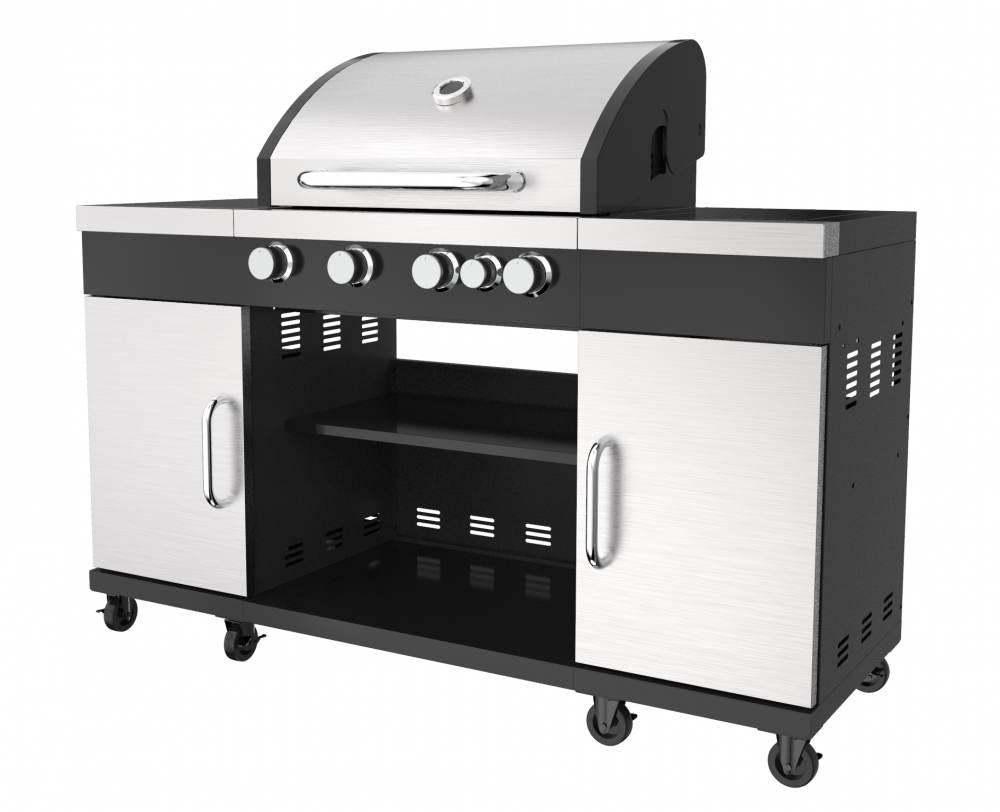 Outdoor Kitchen Gas Barbecue