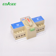 100a generator ac MCB type 4 pole ATS automatic transfer switch