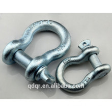Adjustable Drop Forged Bow Shackle With Screw Pin--Qingdao Rigging