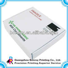 caja de cartón blanca personalizada, caja de cartón corrugado