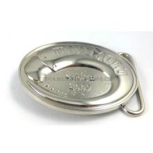 Hebilla de cinturón militar de aleación de zinc en níquel (cinturón hebilla-010)