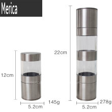 Stainless Steel Manual Pepper Grinder