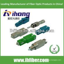 FC / LC / SC / ST Fibra Óptica Attenuator Masculino Para Feminino fabricante