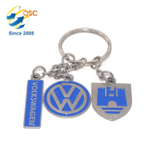 Vente chaude pas cher promotionnel personnalisé sac à main en métal 3D Keychain