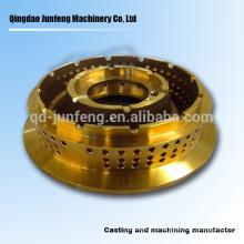 Custom precision brass oil burner