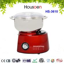 Batidora de pie de cocina roja de alta potencia