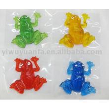 Novedad Funny Sticky Frog Juguete