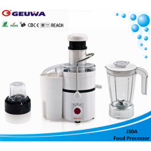 Geuwa 75mm Wide Feed Opening Electric Powerful Juicer (J30A)