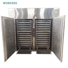 Hot air stainless steel food dehydrator vegetable fruit meat beef jerky dryer cabinet tray type food dryer