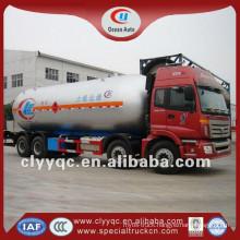 60m3 3 axle lpg semi low bed semi trailer