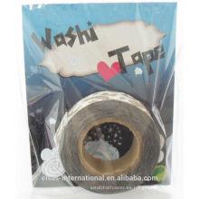cinta de washi purpurina hecha a medida