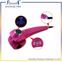Portable Ladys Mch calentador de pantalla plana de pelo rizado de hierro