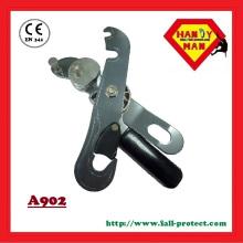 A902 EN341 Descansador de parada de segurança de auto-frenagem de alumínio