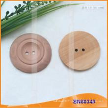 Boutons en bois naturel pour vêtement BN8034