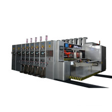 New production Carton Corrugated machine/Fully automatic production flexo printing die cutting and gluing machine
