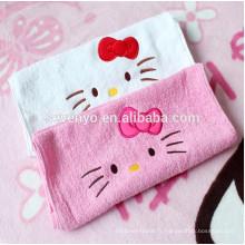 Accueil Textile Cartoon Hello Kitty serviettes de bain pour salle de bain ou de lavage pour sécher l'air ou de la main ou du corps, serviette de bain pour les enfants ou les femmes