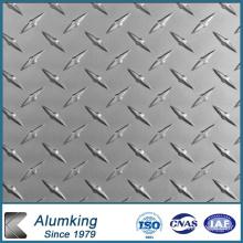 0.6 Mm Bar Height Embossed Aluminium Sheet