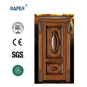 Интерьер деревянная дверь/твердая деревянная дверь (РА-Н001)